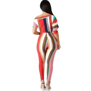 ✨NEW✨Sexy Stripe Jumpsuit